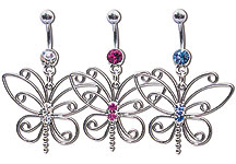 Navel Dangles SV5522 $2.70/Ea