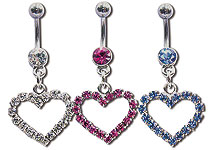 Navel Dangles SV5523 $2.70/Ea