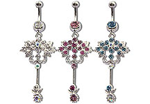 Navel Dangles SV5533 $4.50/Ea