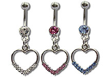 Navel Dangles SV5539 $1.85/Ea