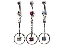 Navel Dangles SV5540 $1.50/Ea