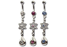 Navel Dangles SV5541 $1.50/Ea