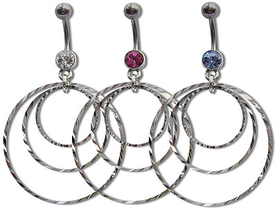 Navel Dangles SV5544 $1.50/Ea