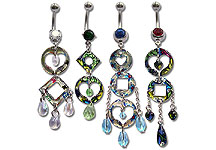 Navel Dangles SV5546 $1.40/Ea
