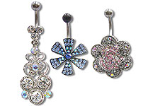 Navel Dangles SV5549 $Various/Ea