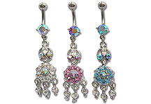 Navel Dangles SV5550 $2.10/Ea