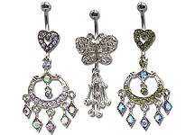 Navel Dangles SV5551 $2.10/Ea