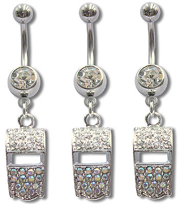 Navel Dangles SV5555 $2.30/Ea
