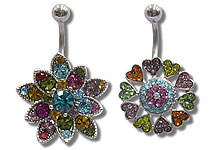 Navel Dangles SV5556 $Various/Ea