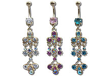 Navel Dangles SV5557 $2.70/Ea