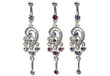 Navel Dangles SV5558 $3.75/Ea