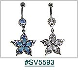 SV5593, Flowers with Gems THUMBNAIL