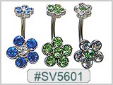 SV5601 Double Gem Flower Clusters