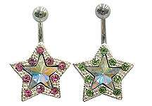 SV7260 Star Silver Multi-Gems