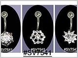 SV7541, Silver Designs with Gems THUMBNAIL