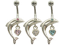 SV8301 Fish with Heart Dangle