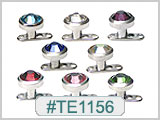 TE1156, Round 5mm Gem Micro Dermal