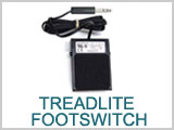 "Treadlite Footswitch with 1/4"" Phono plug THUMBNAIL"