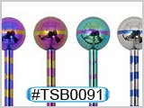 TSB0091 Titanium Colored Barbells THUMBNAIL