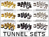 Ear Tunnel Sets