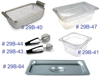 Ultrasonic Cleaner Baskets