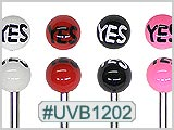 "UVB1202, ""YES"" Ball 14G BB_THUMBNAIL"