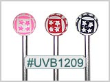 UVB1209, Stars Around Ball 14G BB THUMBNAIL