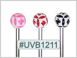 UVB1211, Playing Cards Ball 14G BB THUMBNAIL