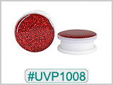 UVP1008, Red Sparkles Threaded Tunnel