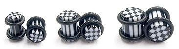 UVP1028 Plugs Checkerboard MAIN