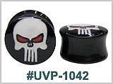 UVP1042, Skull with Red Eyes