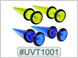 UVT1001 UV Color Tapers for 14G Piercing