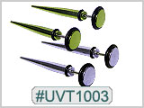 UVT1003 Tapers for 16G Piercing