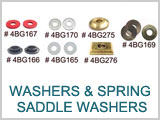 Washers And Spring Saddle Washers # 4bg160