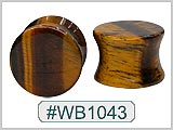 WB1043, Tiger Eye Ear Plugs