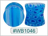 WB1046, Blue Ear Plugs