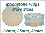 WB1054, Moonstone Ear Plugs