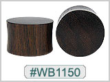 WB1150 Sono Wood Plugs