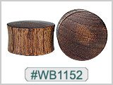WB1152 Blood Wood Plugs