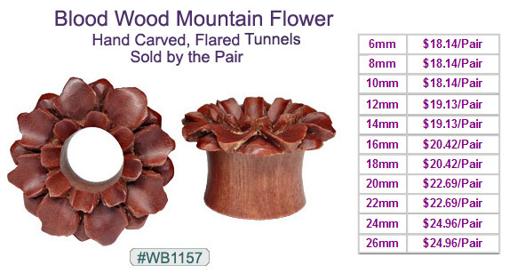 WB1157 Blood Wood Mountain Flower Plugs