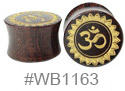 WB1163, Gold Ohm Plug
