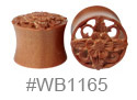 WB1165, Brown Flower Tunnel