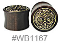 WB1167, Gold Owl Design Plug