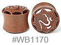 WB1170, Carved Ohm Shield Tunnel