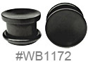 WB1172, Black 2-Side Plug