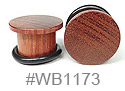 WB1173, Brown 2-Side Flat Plug THUMBNAIL