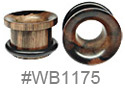 WB1175, Dark Brown 2 Side Tunnel
