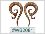 WB2081  Wood Ear Gauge Designs THUMBNAIL