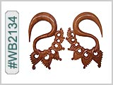 WB2134 Carved Wood Ear Style