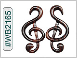 WB2165 G Clef Ear Designs